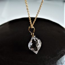 画像6: 【残り3・WEB限定・訳あり】AAA大粒のきらめき! NYハーキマーダイヤモンド クォーツ 結晶ネックレス 約40cm 14kgfネックレス (6)