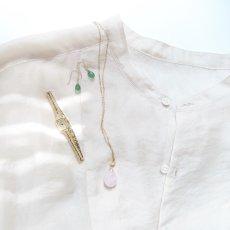 画像7: 【1点もの・A】桜ピンク 大粒 ピンクアクアマリン(モルガナイト) つるりん滴型 約50cm14kgfネックレス (7)