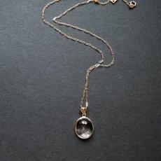 画像5: 【1点もの・C】希少石!水入り水晶(クリスタル) ペンダントネックレス 14KGFネックレス50cm (5)